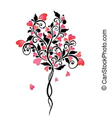 Decorative wedding tree