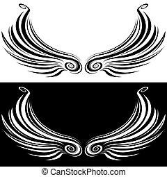 Decorative Wing