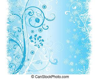 Decorative winter grunge