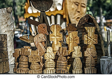 Decorative wooden carved 1