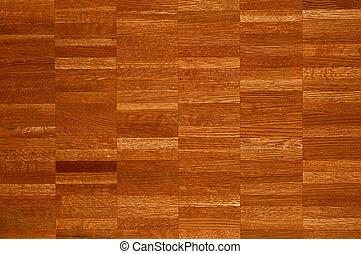 Decorative wooden parquet.
