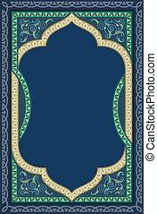 decorativo, arte islâmica