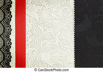 DECORATIVO, concetto, tessuto,  photobook, fondo, album