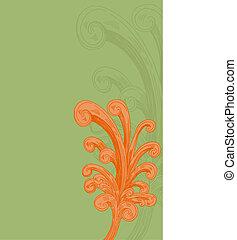 decorativo, flourishes