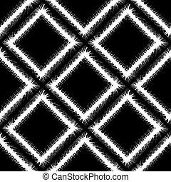 decorativo, grunge, padrão, quadro, seamless, branca