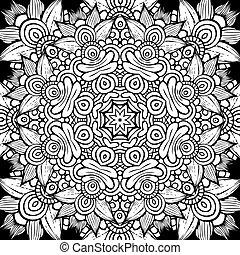 decorativo, ornamentale, modello cerchio