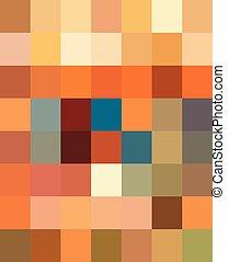 decorativo, resumen, pattern., multicolor, florido,...