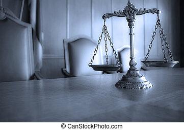 decorativo, scale giustizia