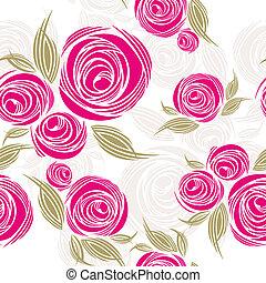 decorativo, seamless, padrão