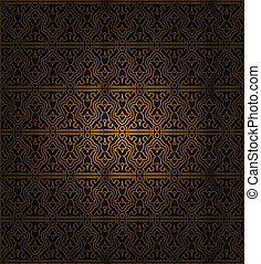 decorativo, seamless, pattern.