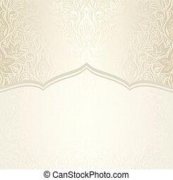 decorativo, spazio, vendemmia, disegno, matrimonio, floreale, copia