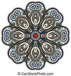 decorativo, spirituale, loto, simbolo, flusso, mandala,...
