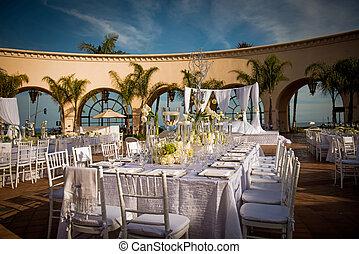 decorato,  beautifully, luogo d'incontro, matrimonio