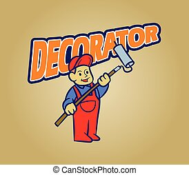Decorator Retro Cartoon
