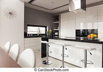 decorazione, contemporaneo, cucina