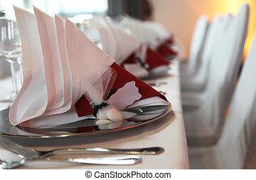 decorazione, esclusivo, primo piano, -, tavola