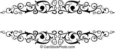 decorazione, ornamentale