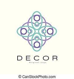 decorazione, vettore, negozio, manifesto, identità, ditta, originale, mestiere, illustrazione, creativo, aviatore, fondo, bandiera, bianco, negozio, distintivo, pubblicità, logotipo, mobilia