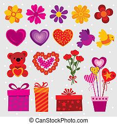 decorazioni, amore
