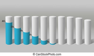 Decrease economic graph. Cylinder 2 - Decrease economic...