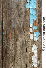 decrepit Old Wood Background - decrepit blue white paint Old...