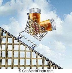 decrescente, sanità, costi