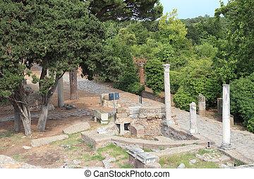 Decumano ancient Roman Road