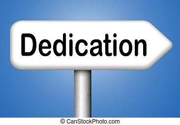 dedicación