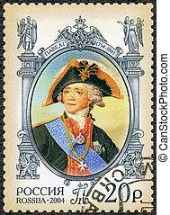 dedicado, (1754-1801), 2004:, -, hist, czar, paul, rússia, mostra