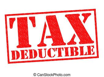 deductible, impuesto
