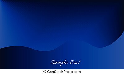 Deep Blue Background