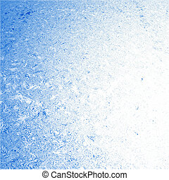 Deep blue ice water background