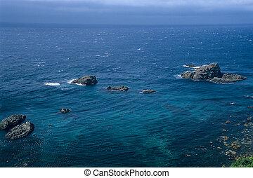 Deep blue sea Japan