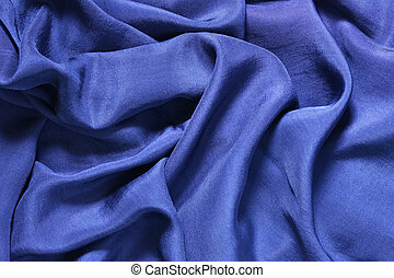 Deep blue silk background