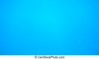 Deep blue water in ocean or sea without any life