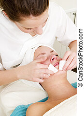 Deep Cleansing at Spa - Deep cleansing facial extraction at ...