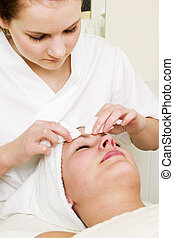 Deep Cleansing at Spa - Deep cleansing facial extraction at...