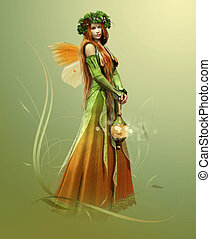 Deep Forest Elf - elf who lives in the forest