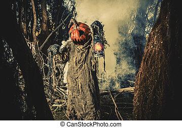 deep forest fear