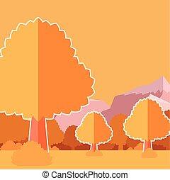 Deep Forest flat background18