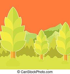 Deep Forest flat background28