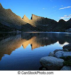 Deep Lake reflection
