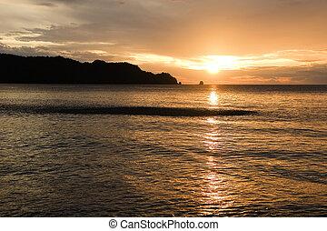 Deep Orange Sunset