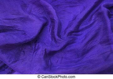Deep purple silk drape - Deep purple silk chiffon drape...