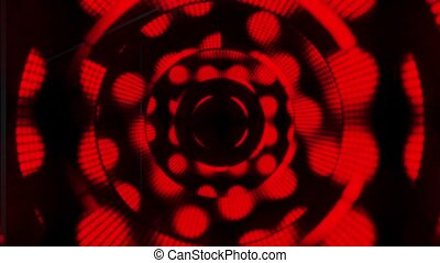 Deep red abstract motion background