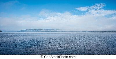 Deep River Blue bay panoramic .