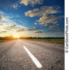 Deep road