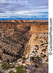 Deep Sandstone Canyon