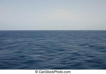 deep sea waves motion blur