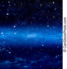 deep space, abstract background - deep space, abstract blue ...
